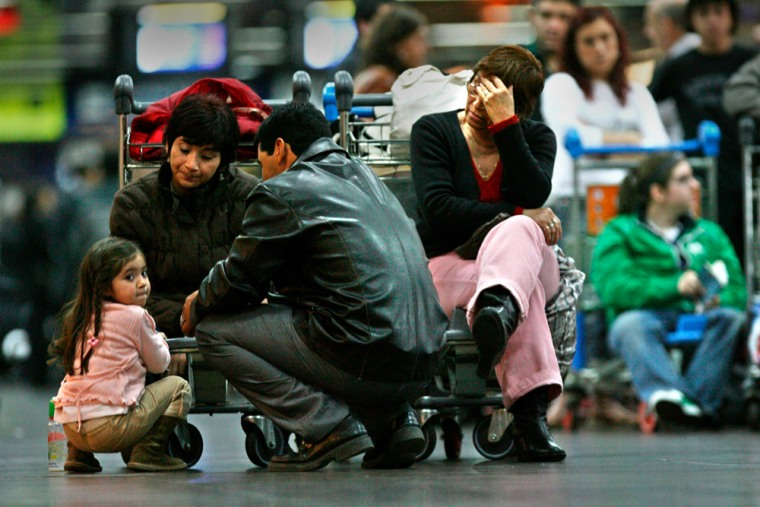 Passengers of Argentina's airline