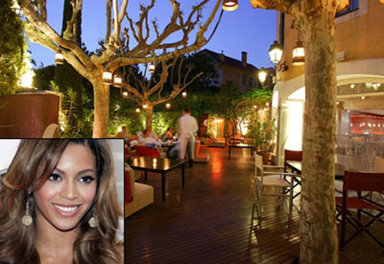 Beyonce, P. Diddy and Naomi Campbell have all dined at Spoon in Saint Tropez before dancing at the Byblos Hotel's famous Les Caves du Roy nightclub.