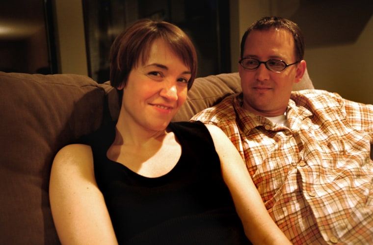 Kristin Kalning and her husband, Steve, in their home in Redmond, Wash., decided to draw the lineat in vitro fertilization.