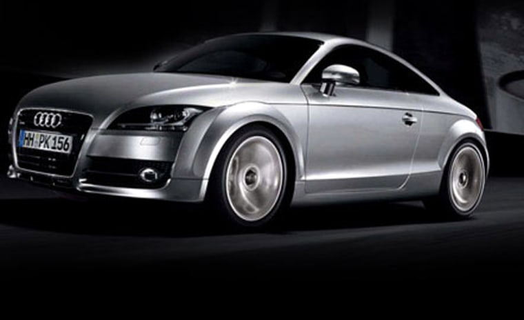 The new Audi TT looks pumped up, as if by a gym membership, withfiercesome angular looks.