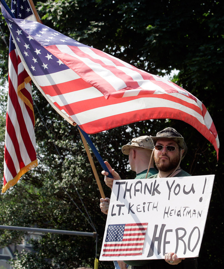 To celebrate the birth of our nation, MSNBC analyst Jack Jacobs asks you rememberthose who serve.(AP Photo/Bob Child)