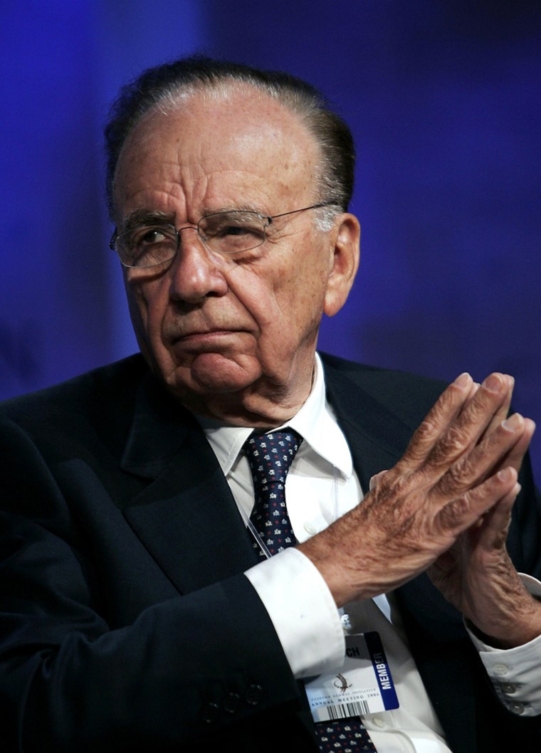 (FILE) News Corp and Dow Jones Reach Tentative Agreement