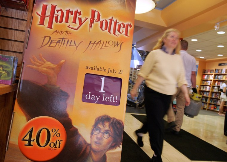 Retailers Prepare To Cash In On Harry Potter Mania
