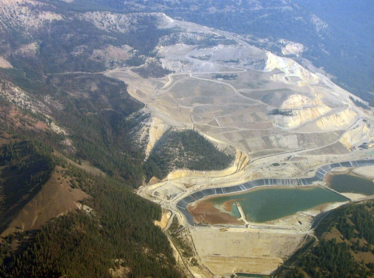 The now-closed Grouse Creek Mine, locatednear Stanley, Idaho, is undergoing a $40 million cleanup.