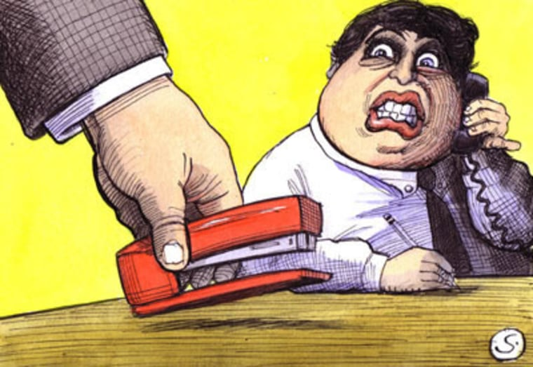 Tired of your stapler being swiped? Don't seethe, say something.