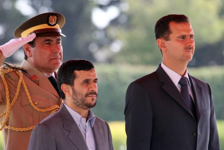 Bashar Assad,  Mahmoud Ahmadinejad