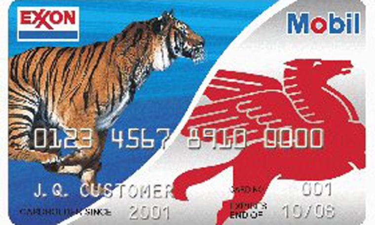 Easy money: ExxonMobil issued 2,000credit cards to a Manhattanaccountant.