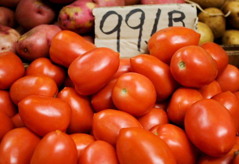 A recent study found lycopene, a compound in tomatoes, does not reduce risk of prostate cancer.