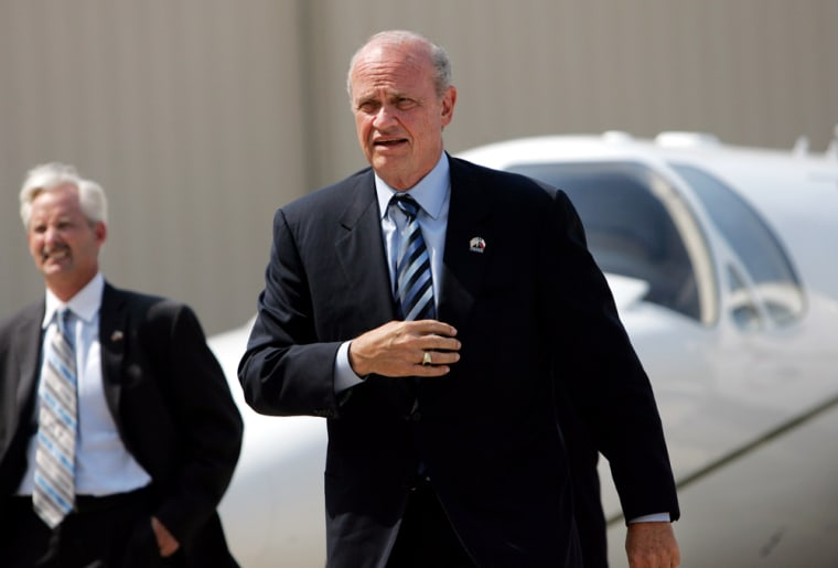 Fred Thompson Makes Campaign Appearance In Dallas