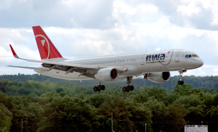 Northwest Airlines has had to cancel hundreds of flights this week because of unusually high pilot absenteeism.