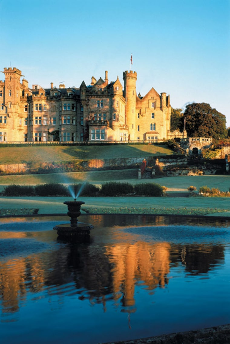 For a $75,000 bottle of 1926 The Macallan, go to the source—the Scottish Highlands—and sip in high style at the Skibo Castle. This grand abode was Andrew Carnegie's Scotland home and, more recently, hosted Madonna and Guy Ritchie's wedding. Golf and Highland distilleries—including Macallan's—are a short drive away.