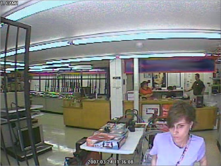 Mary Byrne Smith was caught on a Bossier City, La.,pawnshop's security video in March on the day she disappeared.