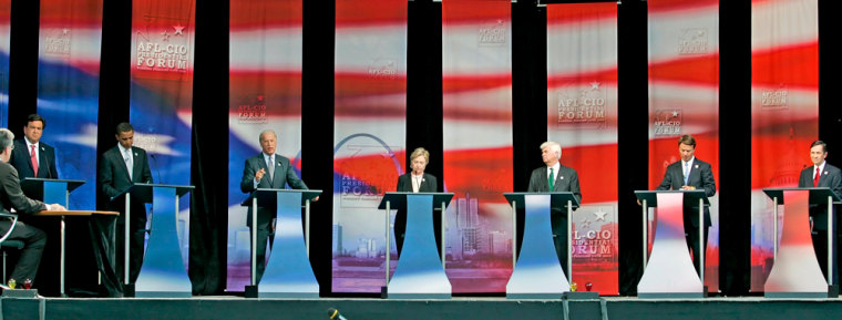 AFL-CIO Presidential Candidates Forum at the Soldier Field