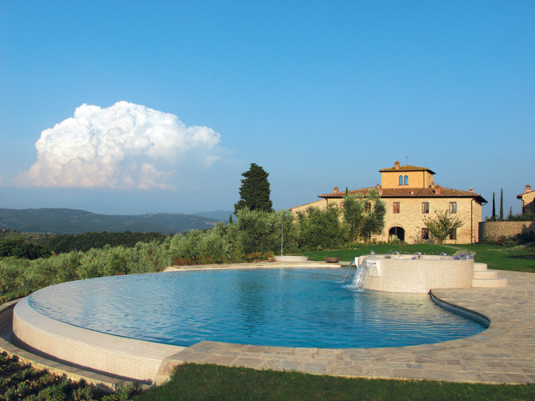 The thrill of experiencing a foreign culture at your pace and on your terms is a prime reason to consider a rental. The Villa Chianti Classico in Tavarnelle Val de Pesa, Florence, Italy, rents for $10,685-$18,640 weekly depending on season.