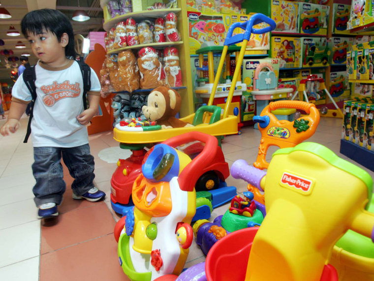 Toys made by Mattel based on popular characters like Barney, Dora and Diego have been recalled in some Asian and European countries after the toymaker warned of lead in the paint. China has temporarily banned two toy makers whose products were subject to massive recalls in the United States.