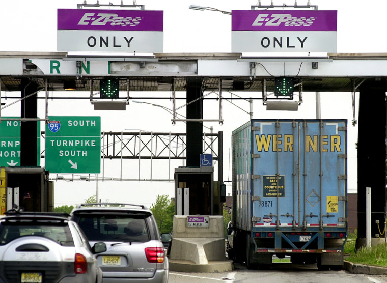 Records from e-tolls, such as those shown here, are used in divorce court to prove a spouse strayed.