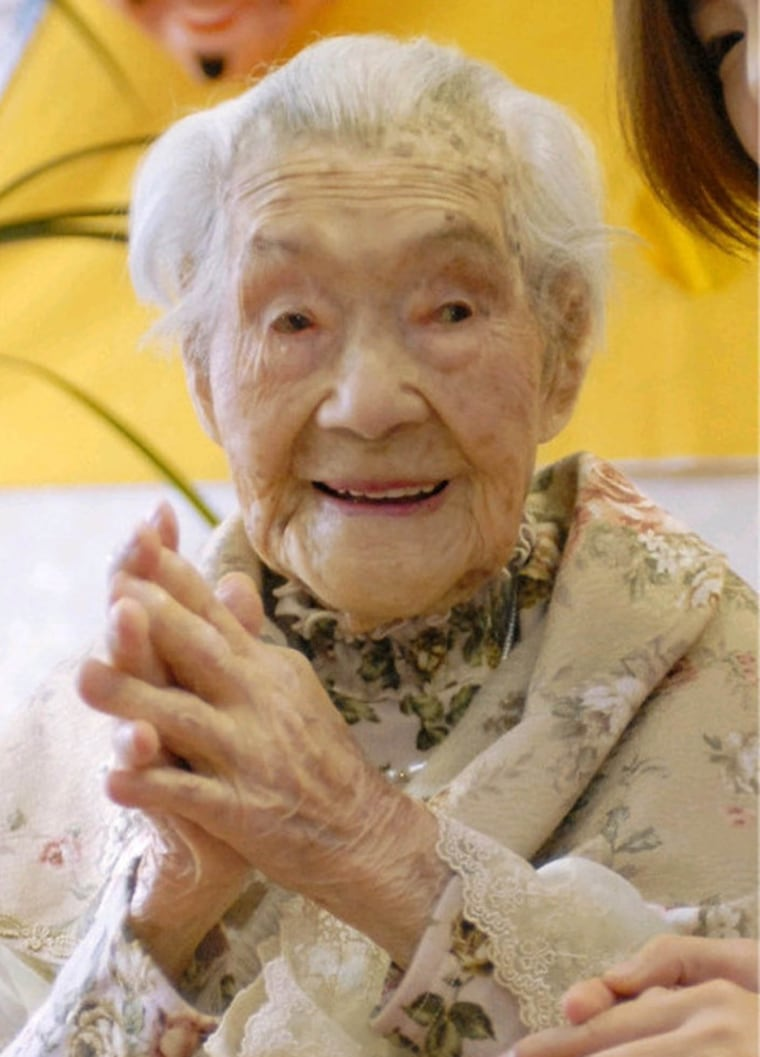 Yone Minagawa became the world's oldest person earlier this year.