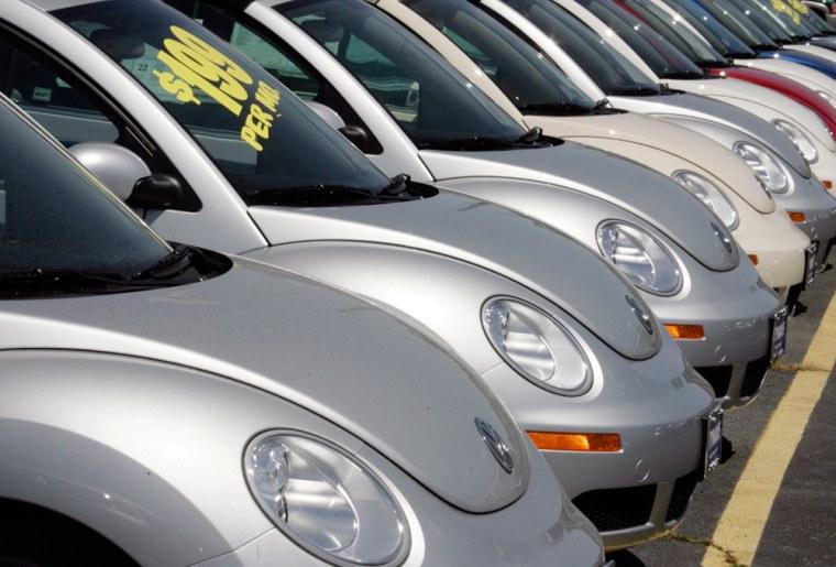 2007 Volkswagen New Beetles