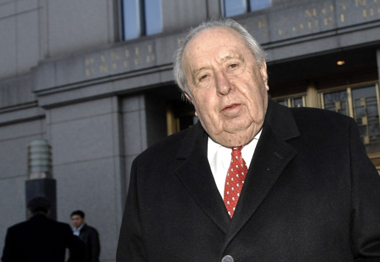 Oscar S. Wyatt Jr., pictured,allegedly notified the Iraqi government that the United States would bomb Iraq, when it would invade Iraq and how many soldiers would be sent.