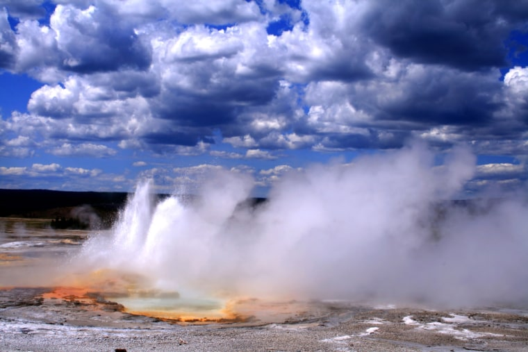 It may not have the classic shape of its conical cousins, but the park's status as the largest super-caldera on earth makes it a must-see volcanic landscape. Yellowstone has half the geysers on earth and many unique geological formations including valleys of volcanic hoodoos (eroded towers of rock).