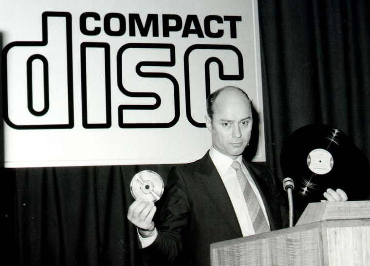 Philips Celebrates 25th Anniversary of the Compact Disc
