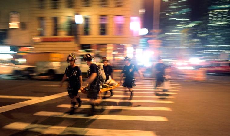 Fire Near Ground Zero Kills Firefighters