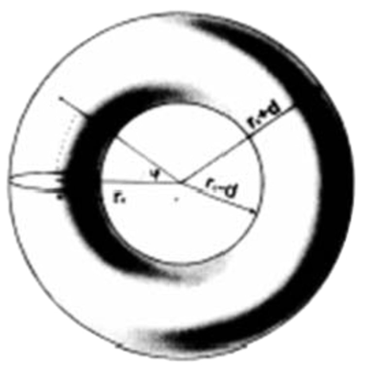 Israeli physicist Amos Ori envisions a time machine that is created from a doughnut-shaped vacuum enveloped within a sphere ofnormal matter. Space-time would be bent upon itselfinside the vacuum by focusing strong gravitational fields.
