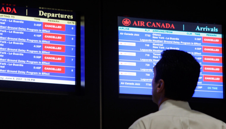 Flight delays created headaches for thousands of air travelers this summer.