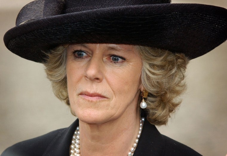 Camilla Parker Bowles, Dutchess of Cornwall, says she will not attend a memorial service for Prince Charles' first wife, Princess Diana.