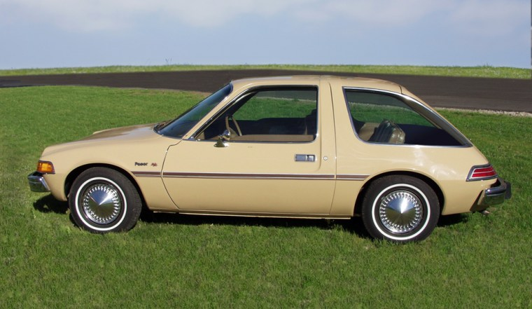 """The AMC Pacer, derisively referred to as """"a pregnant rollerskate,"""" has become popular with collectors over the past few years."""