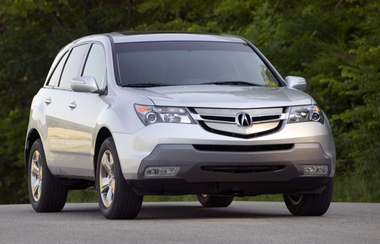 The Acura MDX was one of 78 sport utility vehicles that earned four of five stars in the government's rollover test.