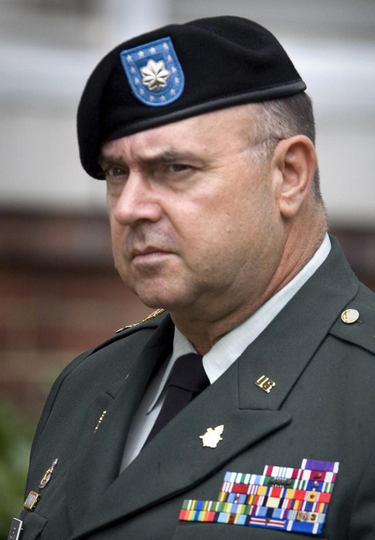 Lt. Col. Steven L. Jordan leaves proceed