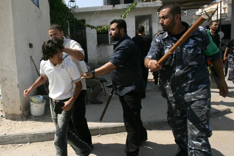 Hamas New Police Force In Gaza