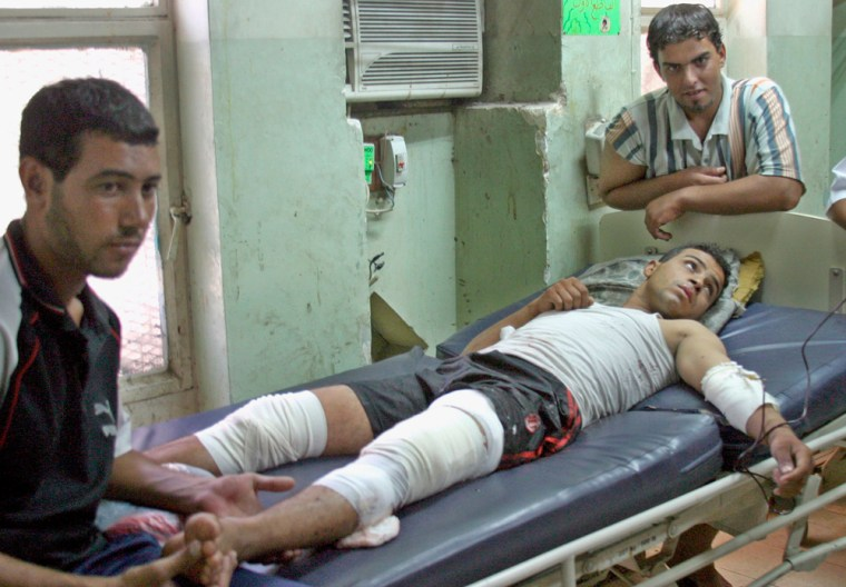 Bomb attack in Baghdad's Sadr city