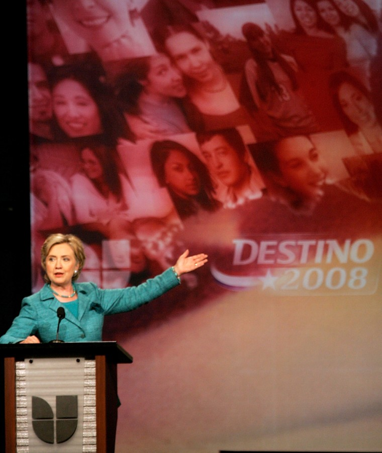 Democratic Candidates Attend Univision Presidential Debate