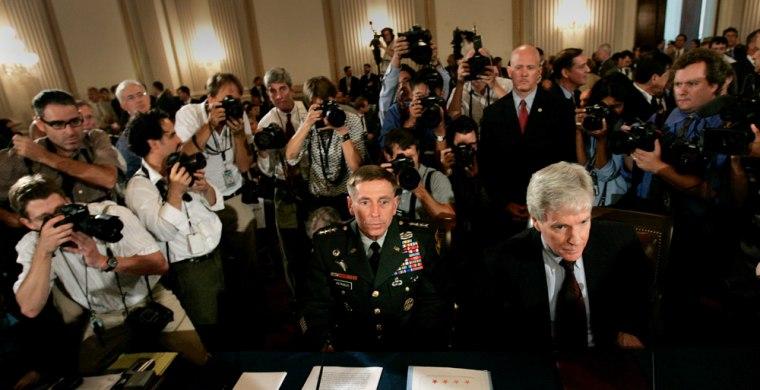 General Petraeus and Ambassador Crocker testify before Congress