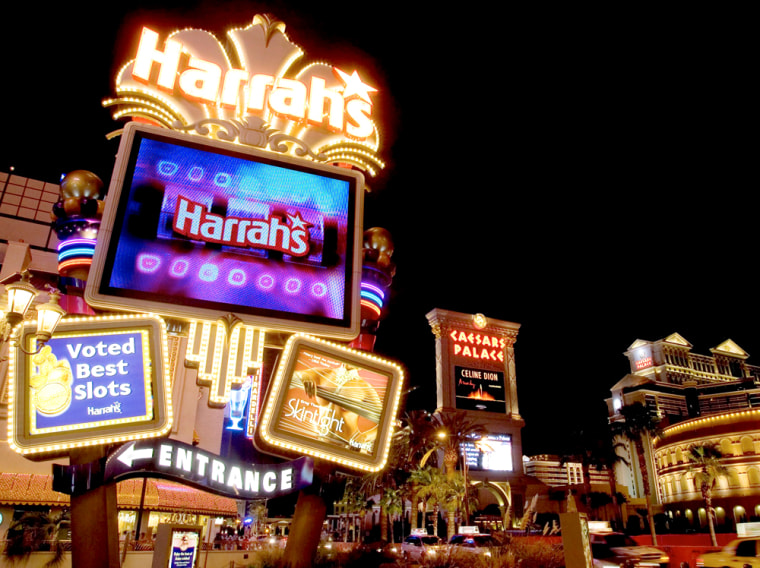 File photo of Harrah's Las Vegas Hotel and Casino in Nevada