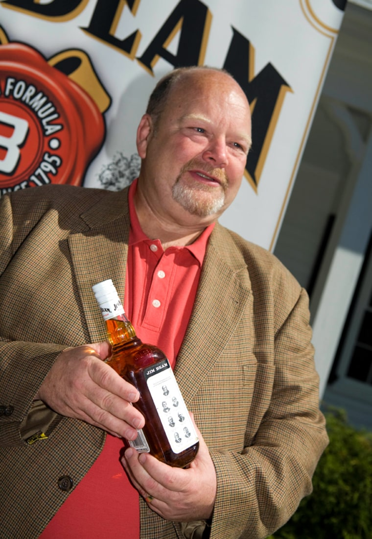 """""""This is a huge honor,"""" said Fred Noe, whose family traces its Kentucky whiskey heritage to 1795, when family patriarch Jacob Beam set up a frontier still."""