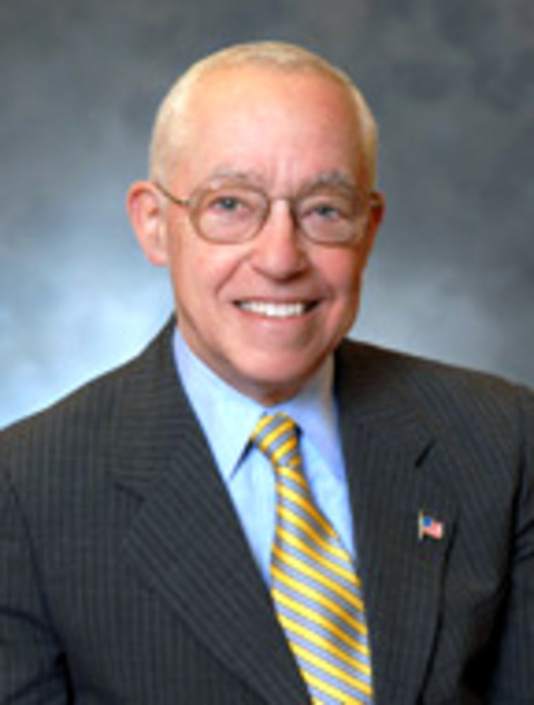 Michael Mukasey is a former U.S. district judge from New York and an adviser to Rudy Guiliani's presidential campaign.