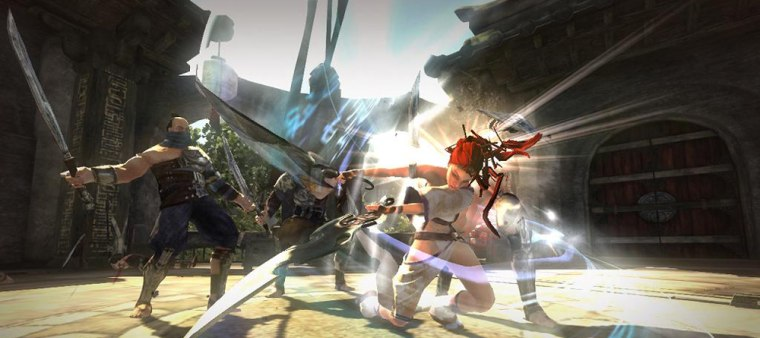 """The visuals and characters in Sony's """"Heavenly Sword"""" are top-notch. Too bad the gameplay is repetitive and the controls are frustrating."""