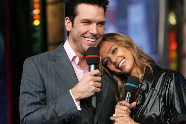 MTV TRL Presents Jessica Alba And Dane Cook
