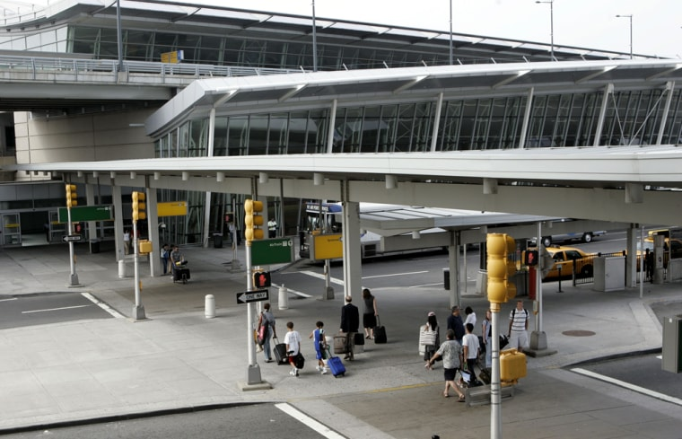 Flight delays and departures are on a record pace for 2007, prompting consumer dissatisfaction and congressional attention to airline service. JFK's arrival rate in July alone was the worst of any major airport.