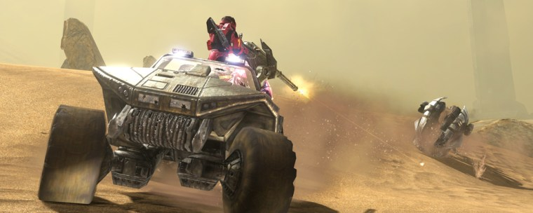 """While the single-player game is limited in """"Halo 3,"""" fans will go crazy for the excellent multi-player, which adds user-generated content features and 11 new maps."""