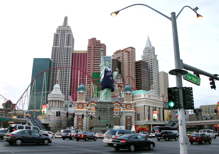 Las Vegas Prepares For The 2007 NBA All-Star Game