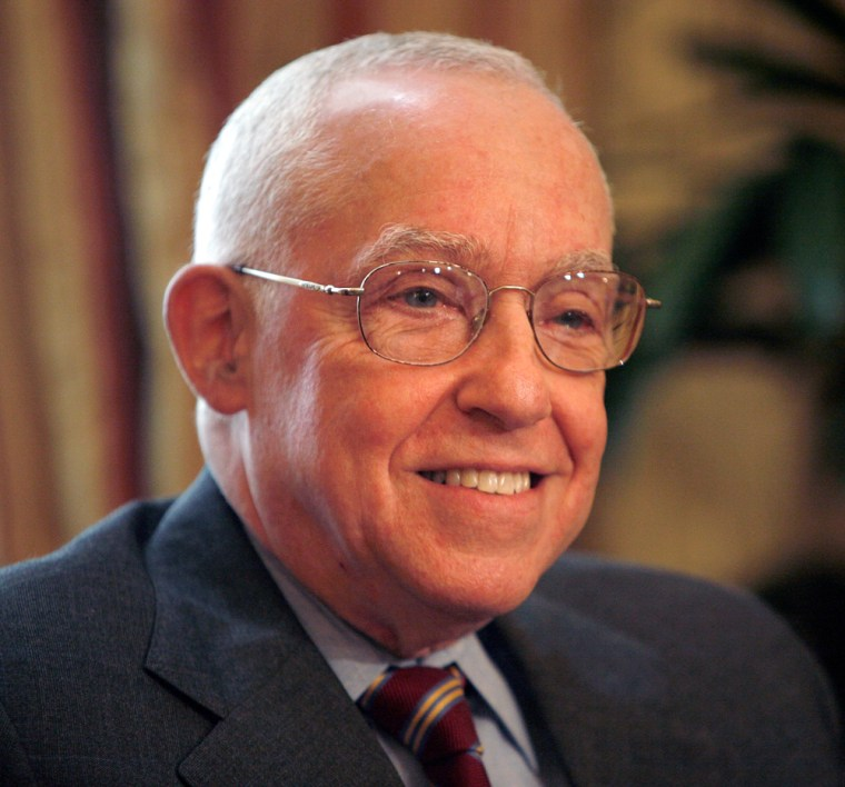 President Bush's nominee for Attorney General Judge Michael Mukasey meets with Senators on Capitol Hill