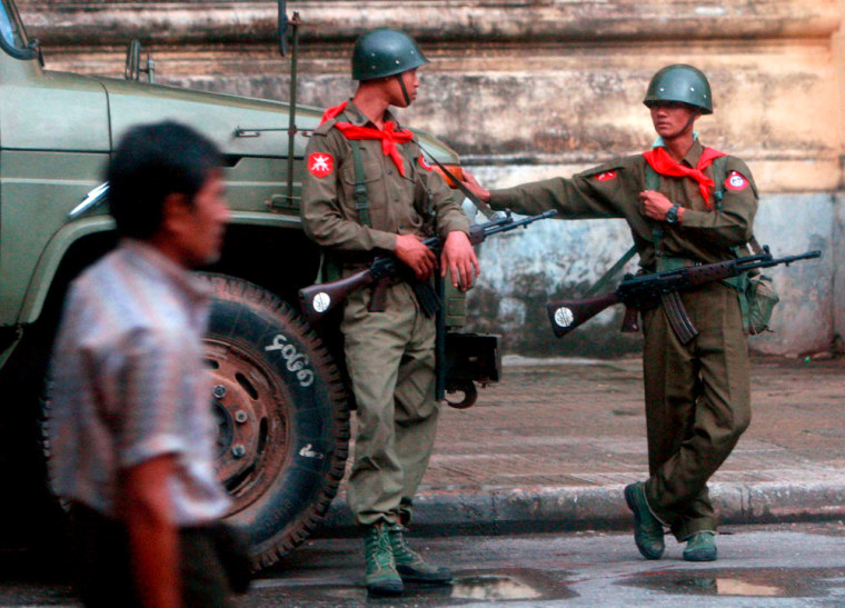 Military tightens the screws on dissent in Yangon