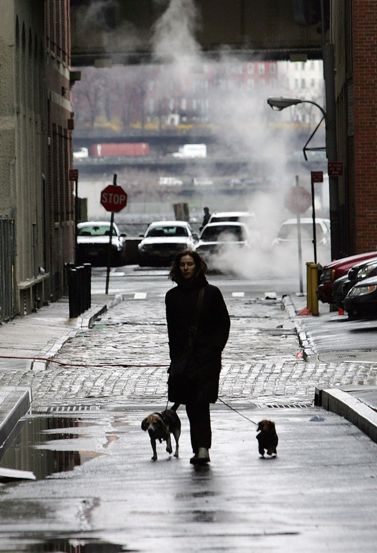 Nor'Easter Brings Record Rains, Floods To East Coast