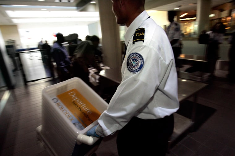 A revised federal guideline, effective Oct. 27, gives airport screeners the option to pat down headwear at the metal detector if a passenger does not want to remove it for personal reasons.
