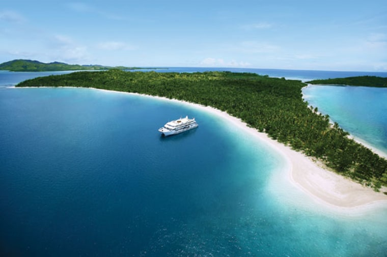 Spend seven days island-hopping on the Fiji Princess through that country's remote Mamanuca and Yasawa Group archipelagoes, where untouched coral cays make for electric snorkeling and prime beach-side barbecues.