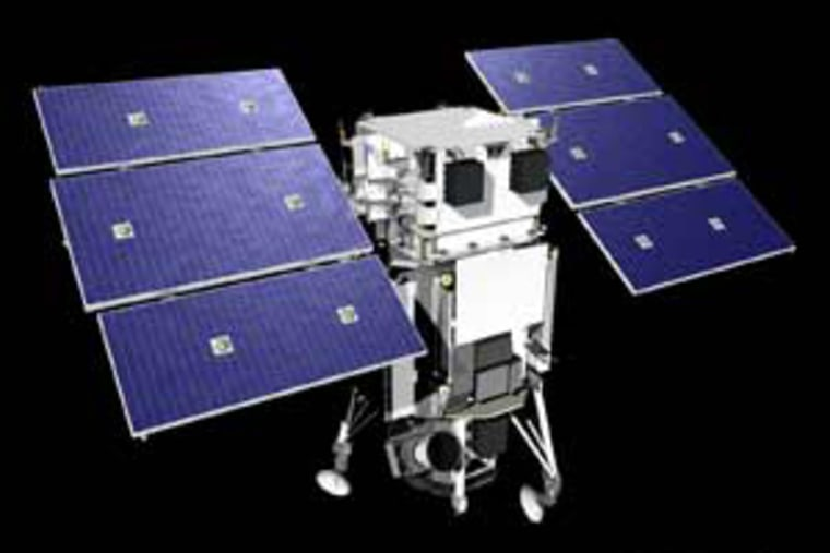 Anew satellite, illustrated here,will bring more accurate imagesof Earth to Google Earth users.